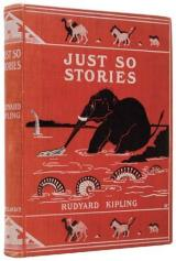 """Just-so stories"" are named after Rudyard Kipling's 1902 book of animal fables. Image courtesy of Wikimedia Commons."
