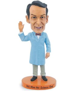 You know you've made it when you've been bobble-headed! Via TeacherSource.com.